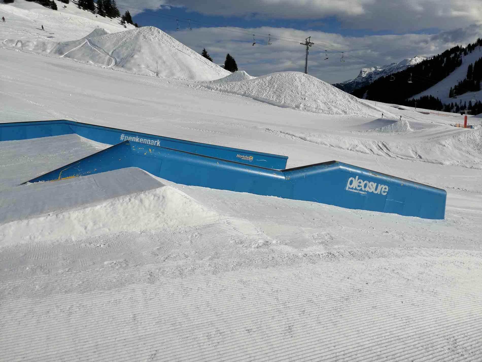 Jib Line Post Box Down/Flat/Down 11m