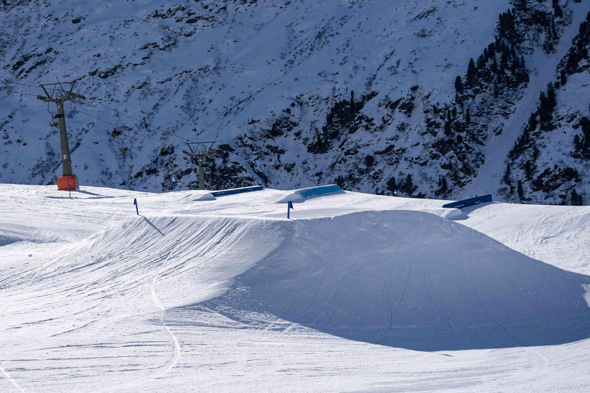 Schnee-Elemente Funbox 10m