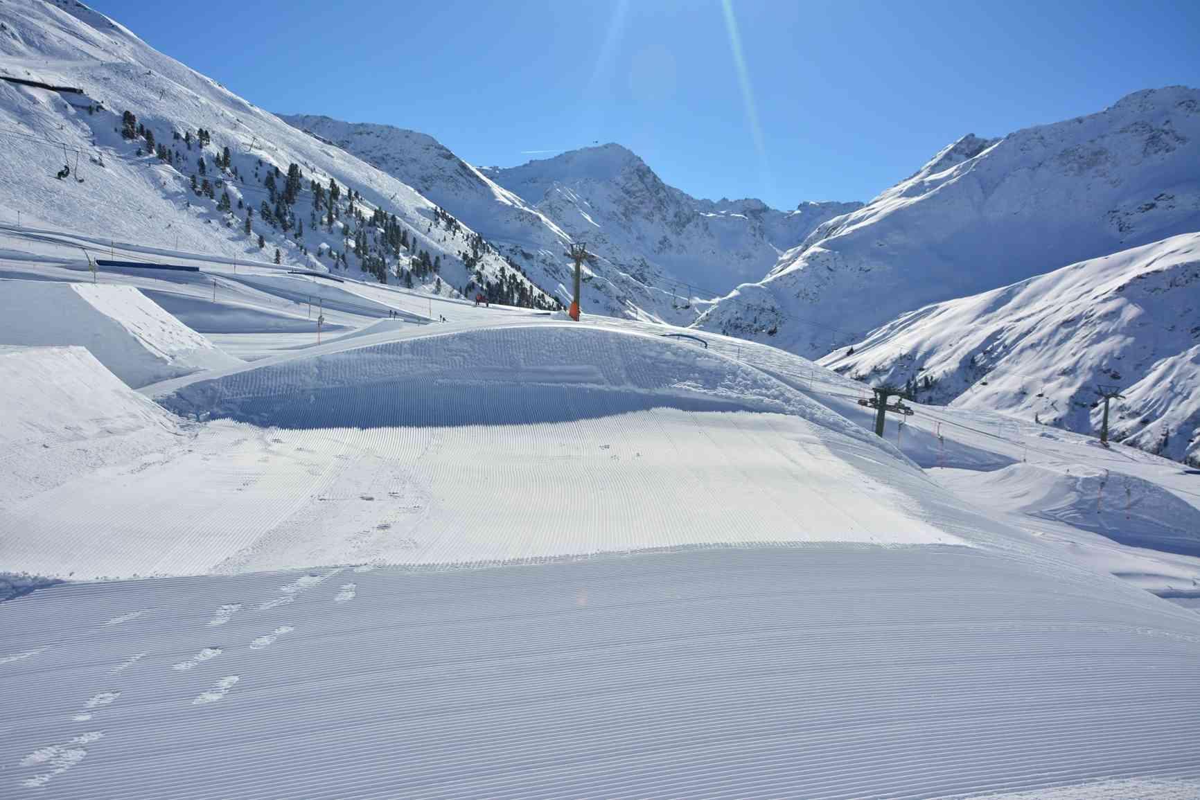 Pro Area Schnee-Elemente Knuckle Roller 8m