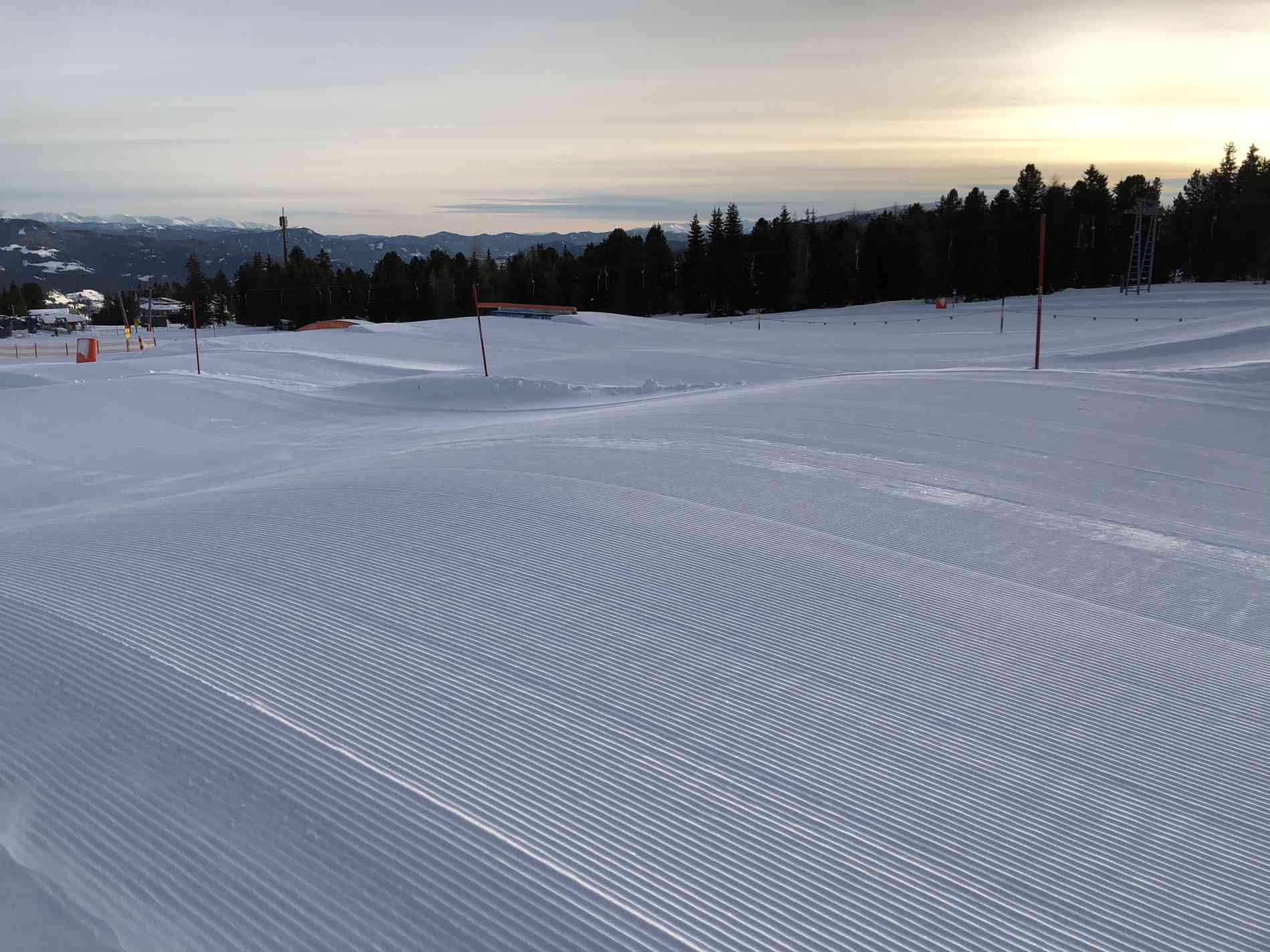 Fun Pipe Area Schnee-Elemente Wave