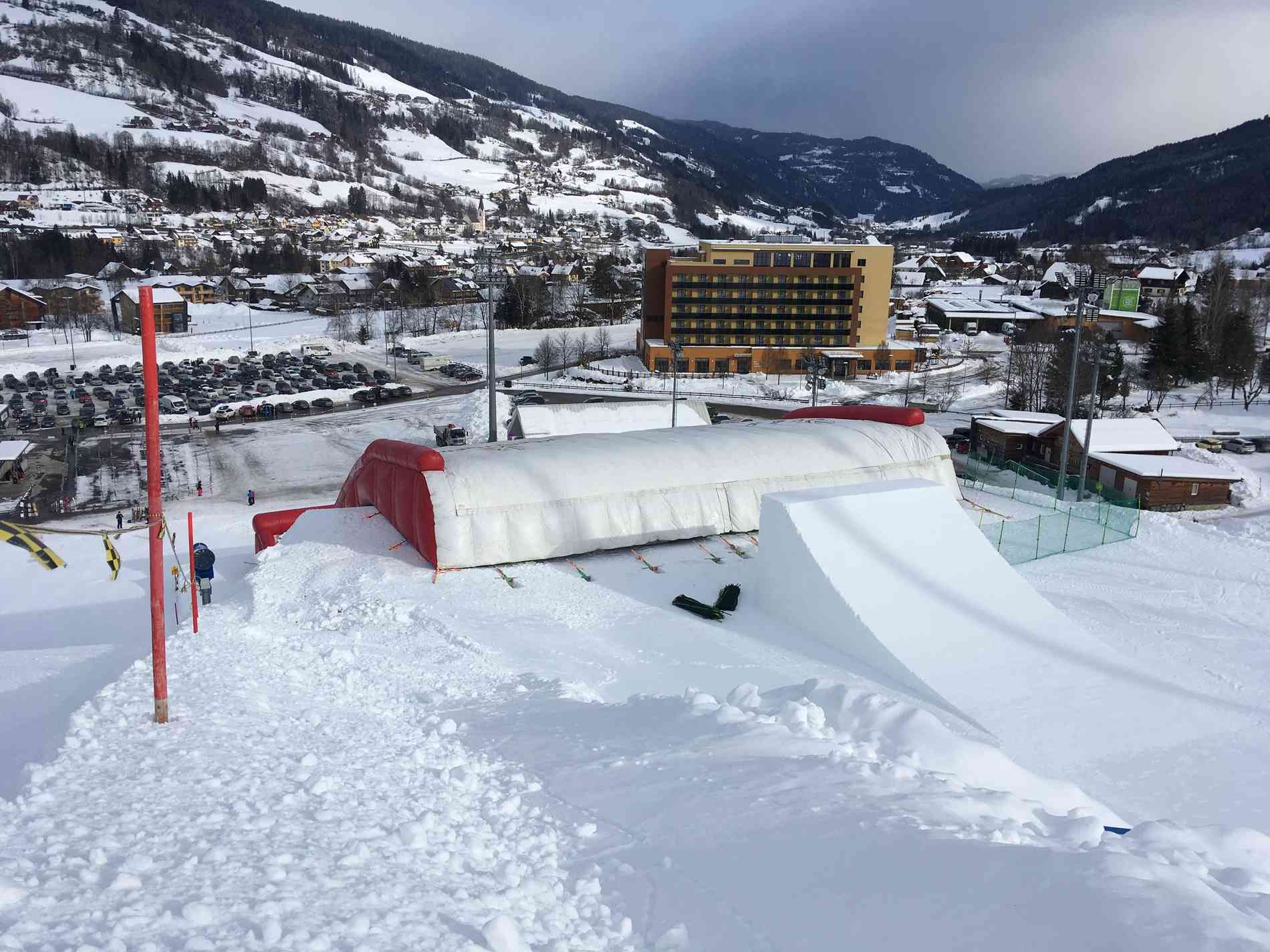 Worldcup Line/ Big Jump Jump Bag Jump 20m